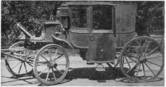Horse carriage prior to 1900. Looks like the town coach I used to ...