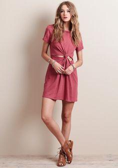 Beat The Heat Knot Dress - Under $50 - Dresses - Clothing | ThreadSence