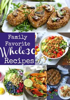 A collection of all of my Whole30 recipes that includes meals the entire family loves to eat! If you want a complete meal plan, check out my 30 Days of Whole30. Whether you are a Whole30 alumni, trying to find clean eating recipes, or brand new to Whole30, you'll love this list of recipes! Breakfast:...Read More »