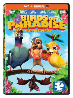 Birds of Paradise on DVD with Printable Activity Sheet and Giveaway - Jinxy Kids Enter to win