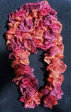 Hand Crafted Sashey Scarf by HCW2 on Etsy, $20.00