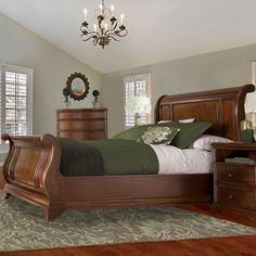 Found it at Wayfair - Chesterfield Sleigh Bed
