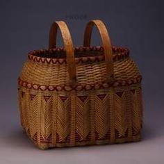 Artha Labath's award winning double walled Cherokee picnic basket. Entertainment  Life - The Lake News Online