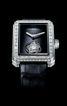 #Chanel Camelia' Tourbillon Caliber 2012