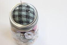 Como hacer un costurero porta botones