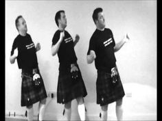 "Beyonce's ""Single Ladies"" Performed by 3 Best Men in Kilts"