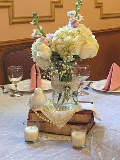 80th Birthday Centerpieces