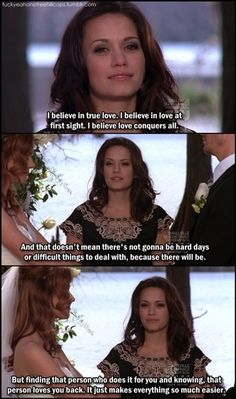 Loved this episode especially when skills had Jamie on a leash lol (not to mention when Haley recited lyrics from Every Rose Has Its Thorn during the ceremony)