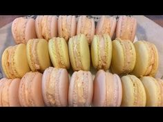Macarons - Reteta Macaron Super Metoda Italian Meringue - How to make Macarons Italian Meringue Metod Homemade Macarons, How To Make Macarons, Macaron Cookies, Macaron Recipe, Meringue Recept, Italian Meringue, Food Stations, Sweet Cookies, Cake Recipes