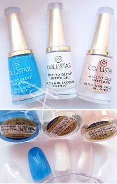 Smalti Gloss Effetto Gel 2014#civuolesmalto #Collistar #smalto #unghie #nails #2014 #makeup #gloss #gel