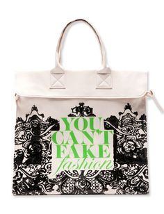 Prabal Gurung's anti-counterfeiting tote for The Council of Fashion Designers of America. http://news.instyle.com/photo-gallery/?postgallery=104886#6