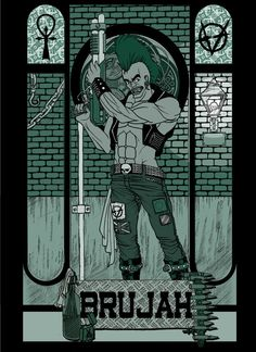 Vampire The Masquerade - Brujah by Axel-TW
