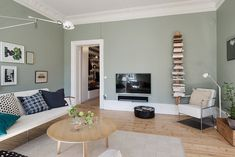 ideas living room green olive interiors for 2019 Sage Living Room, Home And Living, Living Room Decor, Living Walls, Living Room Color Schemes, Living Room Designs, Interior Decorating, Interior Design, Decorating Blogs