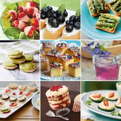 Do you love having tea parties? Here are  20 simple and delicious treats to serve little guests.