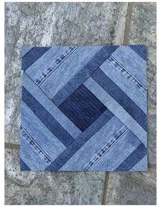 Denim Quilts, Denim Quilt Patterns, Blue Jean Quilts, Scrappy Quilts, Denim Patchwork, Patchwork Quilting, Jean Crafts, Denim Crafts, Blog Couture