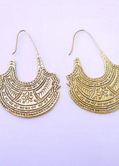 A vendre sur #vintedfrance ! http://www.vinted.fr/accessoires/boucles-doreilles/20428246-grosses-boucles-ethniques-de-creatrice