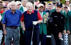 2015 Masters - Arnold, Jack, Gary