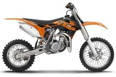 2013 KTM 85 SX - Spec Motorcycle