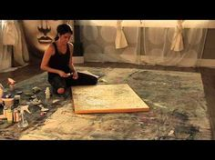 Fearless Abstract Painting with Buddha & Socks - YouTube