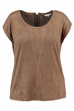 Top Suedine   Fashion   Plussize fashion   Top imitatie suède   Bohemian