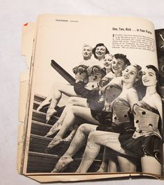 The Toastettes on the Ed Sullivan Show #1950s #pinup #television