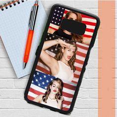 Lana Del Rey And American Flag Samsung Galaxy S8 Plus Case Dewantary