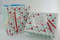 Gift boxes by Sam's Crafty Things made using Stampin' Up! Products. Sam Johnson, Stampin' Up! UK Independent Demonstrator