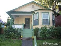 cute tiny house. 1900. Central District.  717 22nd ave