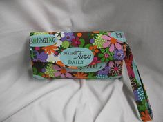 NCW Accordiion Style / Purse / Cell Phone Wallet/ by JosieeDesigns