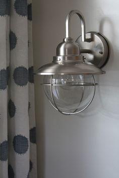 Cool, nautical inspired light