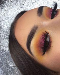 Gorgeous Makeup: Tips and Tricks With Eye Makeup and Eyeshadow – Makeup Design Ideas Makeup On Fleek, Cute Makeup, Glam Makeup, Gorgeous Makeup, Pretty Makeup, Skin Makeup, Makeup Inspo, Makeup Art, Beauty Makeup