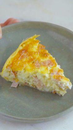 Torta salgada com base de batata super diferente e gostosa para você fazer no fim de semana.