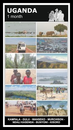 en epic trip to this wonderful african country - UGANDA! How we spent a month travelling & more