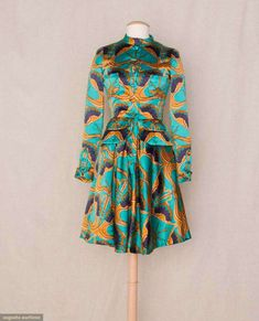Jean Muir Printed Day Dress, 1967, Augusta Auctions, November 10, 2010 - St. Pauls - NYC, Lot 90