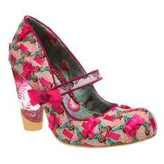 Pink Bow Heels by Irregular Choice - Pixie Kitsune