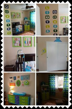 My baby's Monsters Inc room