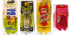 1970's ice lolly wrappers