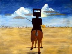Sidney Nolan. Ned Kelly