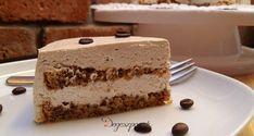 Diós mascarponés kávétorta Cake Cookies, Tiramisu, Cakes, Ethnic Recipes, Sweet, Dios, Mascarpone, Candy, Cake Makers