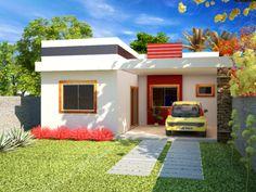Charmant ProjetarCasas: Planta De Casas | Projeto De Casa Moderna; 3 Quartos E  Varanda Gourmet. Mobile HomeSmallest HouseSmall ...