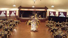 Yellow wedding at the Chandelier Ballroom