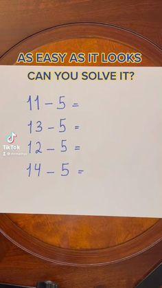 Math Worksheets, Math Resources, Math Activities, Life Hacks For School, School Study Tips, Math For Kids, Fun Math, Cool Math Tricks, Math Made Easy