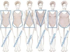 Body Types - How to Draw the Human Figure
