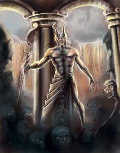 Hades - Greek God of the Underworld by Yarkspiri.deviantart.com on @DeviantArt