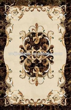Source Building material royal floor pattern, high polished rectangle marble inlay on m.alibaba.com