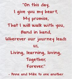 Wedding Vows » 25 Heart-melting Real Couple Wedding Vow Ideas to Make You Cry!