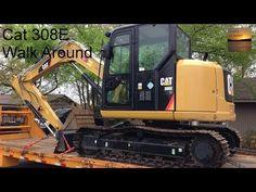 Cat 308E CR SB Walkaround - Exterior, Interior, Under-Hood Views - YouTube