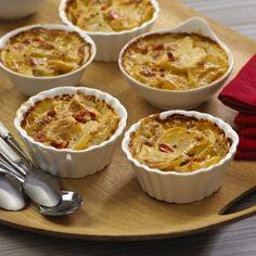 Mini Scalloped Potato Cups- National Potato Lover's Month