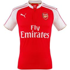 Free 2Day Shipping - Ozil Jersey Arsenal 2015 2016 - Official Puma branded  and Arsenal 30b8e7611