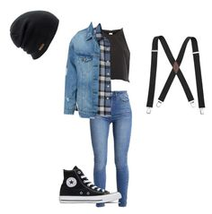 """Jughead inspired: Riverdale"" by j1a1z1z1z ❤ liked on Polyvore featuring Levi's, River Island, LE3NO, Converse and Coal"